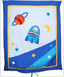 ผ้าห่มปก Spaceship AP - 3001