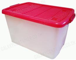 กล่องเอนกประสงค์-มีฝาปิด  มีล้อ NO.2552
