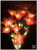 โคมไฟดอกลิลลี่ สีแดงเหลือง