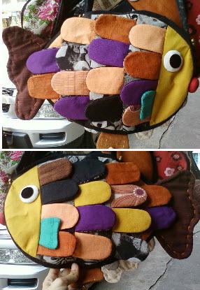 กระเป๋าปลา