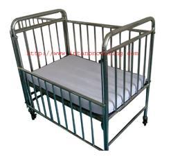 เตียงเด็กสเตนเลส