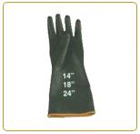 ถุงมือยาง RUBBER ผสม PVC รุ่น RG-F628