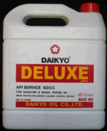 น้ำมันเครื่อง Daikyo Deluxe plus