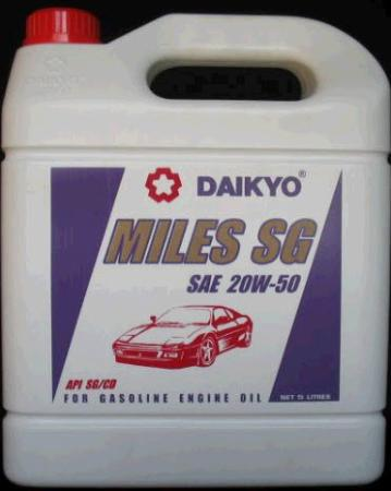 น้ำมันเครื่อง Daikyo Miles SG