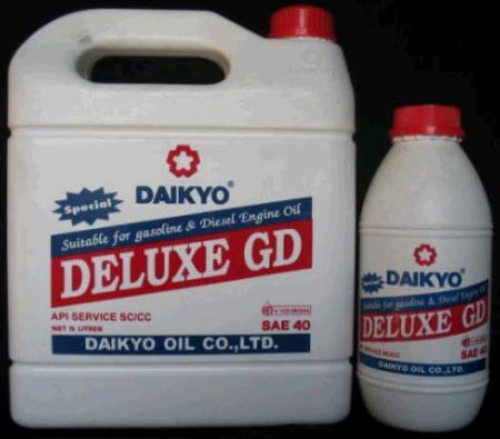 น้ำมันเครื่อง Daikyo Deluxe GD