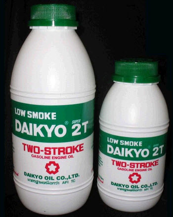 น้ำมันเครื่อง Daikyo Low Smoke Super 2T