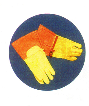 ถุงมือหนัง รุ่น 500 DTEF