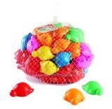 ลูกบอลเต่าคละสี ( 80 ลูก )