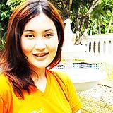 เสื้อยืดคอกลม สีส้ม A012
