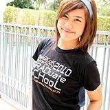 เสื้อยืดคอกลม สีดำ ผู้หญิง A007
