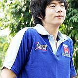 เสื้อยืด คอโปโล สีน้ำเงิน B009