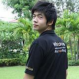 เสื้อยืด คอโปโล สีดำ B006