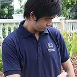 เสื้อยืด คอโปโล สีน้ำเงิน B005