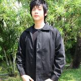 เสื้อแจ็คเก็ตสีดำ D002