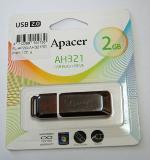 แฟลชไดร์ฟ 2GB Apacer AH321 USB Red Color