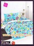 ผ้าปูที่นอน TOTO ชุดเครื่องนอนโตโต้สีสันสดใส TT324