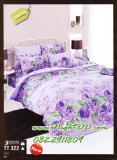 ผ้าปูที่นอนTOTO ผ้าห่ม ผ้านวม รหัส TT322ม่วง