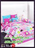 ชุดเครื่องนอนโตโต้ ผ้าปูที่นอน ผ้าห่มโตโต้ MA02