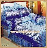 ผ้าปูที่นอน ชุดเครื่องนอนโตโต้เเคร์ CARE 474 ฟ้า
