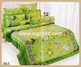 ผ้าปูที่นอน ชุดเครื่องนอนโตโต้เเคร์ CARE 864