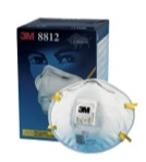 หน้ากากป้องกันฝุ่น 3M รุ่น 8812