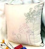 หมอนอิง 10 Velour Embroidered