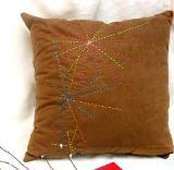 หมอนอิง 13 Suede Embroidered