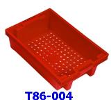 ลังพลาสติกแบบโปร่ง T86-004