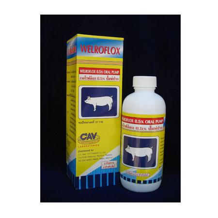 ยาปฏิชีวนะสัตว์ เอ็นโรฟล็อกซาซิน