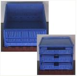 กล่องพลาสติกแบบพับได้  PK035A