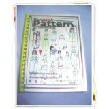 หนังสือสอนสร้างแบบตัดเสื้อเด็ก 01
