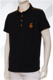 เสื้อ Polo shirt SD-114 BK
