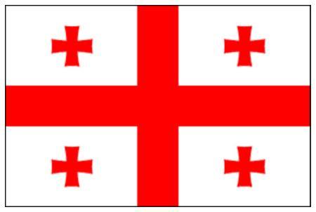 ธงชาติจอร์เจีย