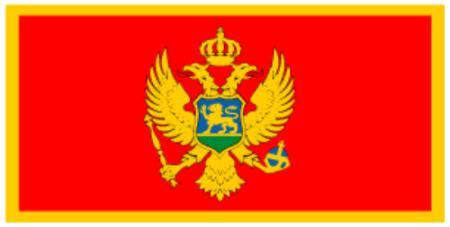 ธงชาติมอนเตเนโก