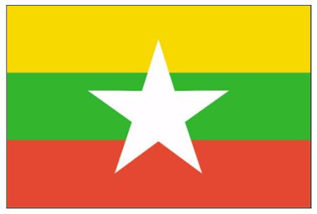 ธงชาติพม่า