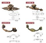 มือจับโบราณ Antique Handles 1CA004-AB