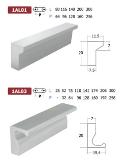 มือจับอลูมิเนียม Alumininum Handles 1AL01