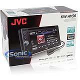 เครื่องเล่นดีวีดีรถยนต์ KW-AV50