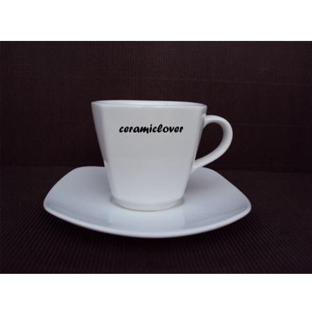 แก้วกาแฟพร้อมจานรอง CS002