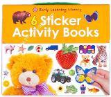 หนังสือป๊อปอัพสามมิติ 6 sticker activity Books