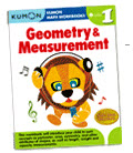 หนังสือเด็ก Geometry & Measurement Grade 1