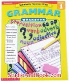 หนังสือเด็ก Grammar Workbook - Grade 1