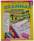 หนังสือสำหรับเด็ก Grammar Workbook - Grade 3