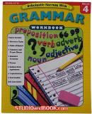 หนังสือสำหรับเด็ก Grammar Workbook - Grade 4