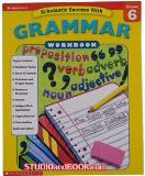 หนังสือสำหรับเด็ก Grammar Workbook - Grade 6