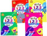หนังสือสำหรับเด็ก Maths Book 1-2 & Activity 1-2