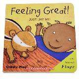 หนังสือสำหรับเด็ก JUST LIKE ME Feeling Great!