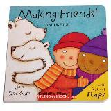 หนังสือสำหรับเด็ก JUST LIKE US Making Friends!