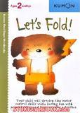 หนังสือสำหรับเด็ก Kumon 2 up - Let's Fold