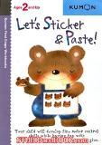 หนังสือสำหรับเด็ก Kumon 2 up - Let's Sticker & Paste